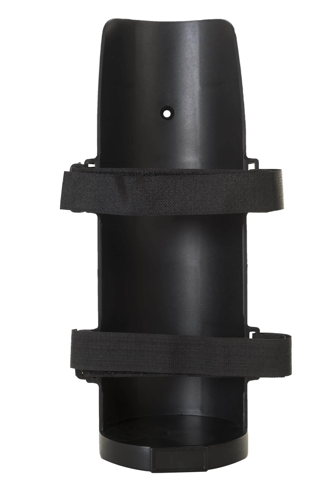 Wall mounted canister holder